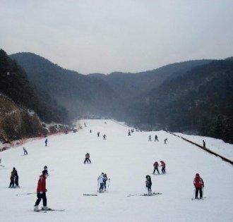 临安大明山滑雪场:华东地区最大的滑雪场