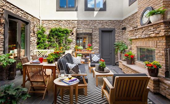 假如我有一所大房子 15个创意庭院花园设计图片