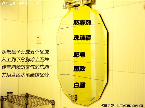 要的是效果 5种防雾/防雨装备效果大PK