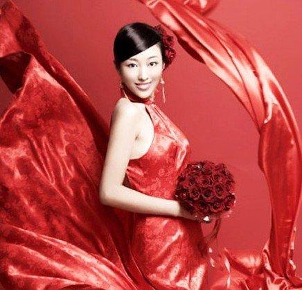 中国风十足优雅与性感并存的中式礼服