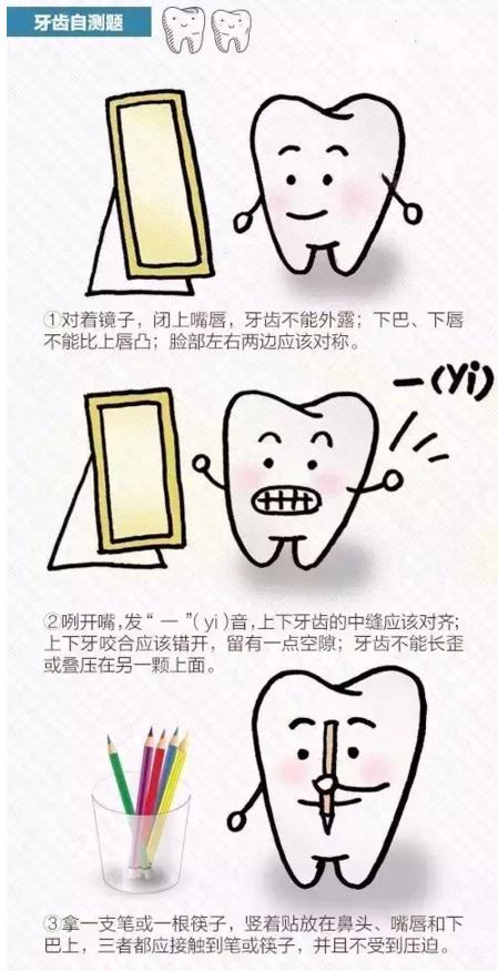自测下,你的口腔能得几分?