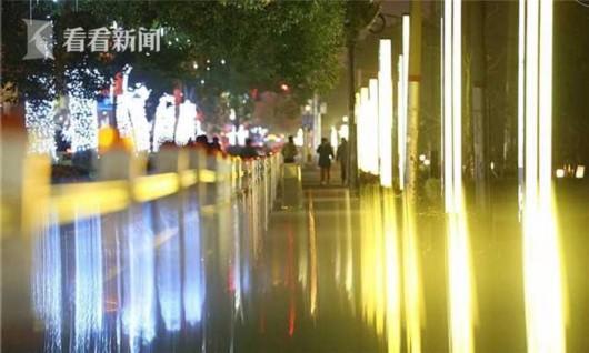 申城夜跑又添好去处 15公里沪闵路绿道亮灯
