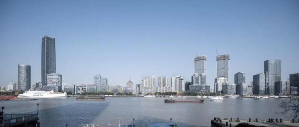 上海最高双子塔今年竣工 屋顶花园有望向市民开放