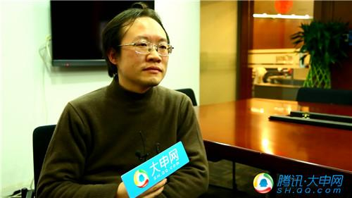 """""""互联网改变生活""""系列访谈——第一财经电视副总监张志清"""