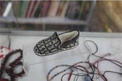 鞋型软陶。
