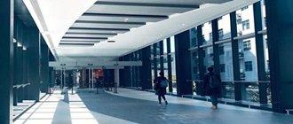 中山公园商圈新建连廊贯通 空中穿梭商场