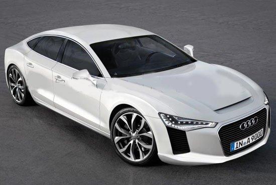 或2014年发布 奥迪a9四门轿跑效果图曝光高清图片