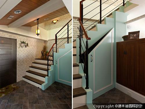 楼梯房看过来 转角变黄金收纳空间