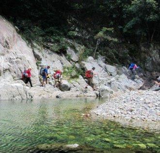 一种野性的召唤 宁海清水溪徒步溯溪