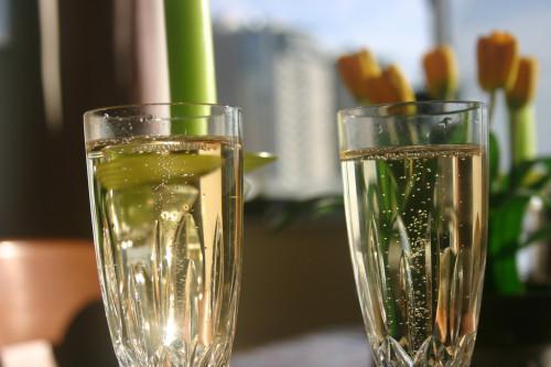 香槟产区酿制的起泡葡萄酒-欢庆时刻 怎能不识品香槟