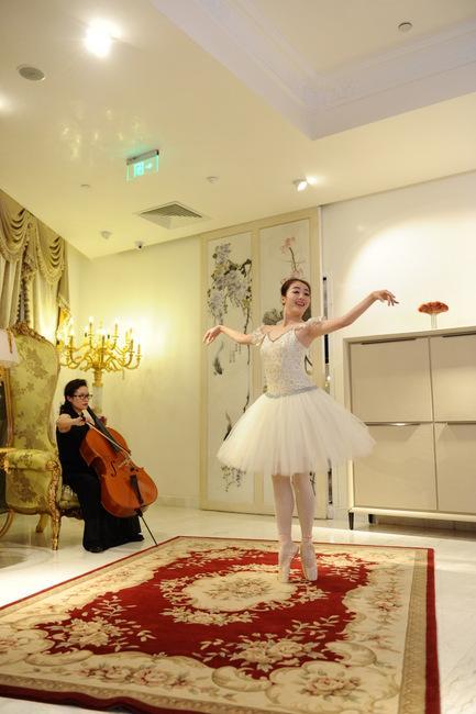 蕾 / 配乐:大提琴《天鹅》-多摩仕奥瑞家居实景歌剧唤醒家居的灵魂