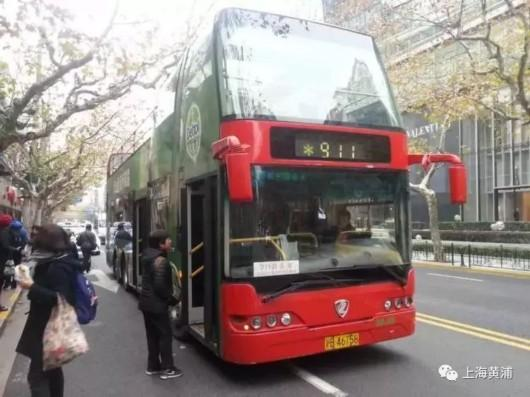 """911路敞篷双层巴士今""""退役"""" 这道风景线你记得吗"""
