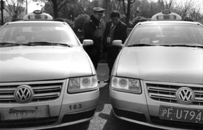 正规出租车车牌被盗 克隆 车司机露马脚