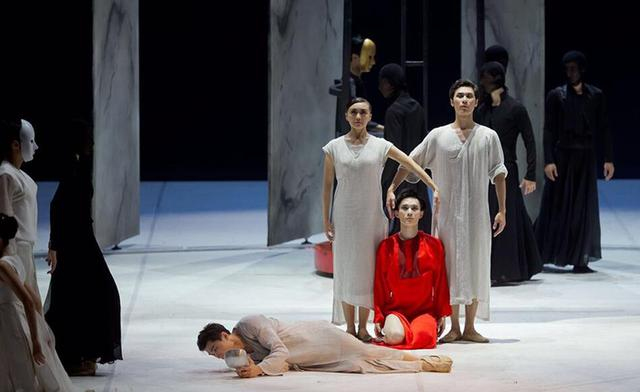 苏州芭蕾舞团原创作品《唐寅》于上海国际舞蹈中心上演