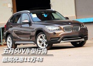 沪上五月SUV车型行情第一弹 最高优惠11万48
