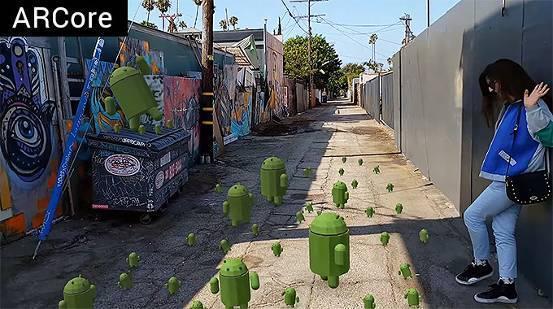 谷歌表示明年将有数亿台安卓手机支持AR平台