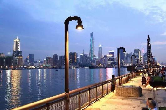 杨浦滨江岸线南段开发方案确定 一段岸线一段工业景观