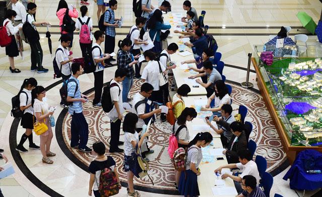 2015上海高考综合评价录取改革试点