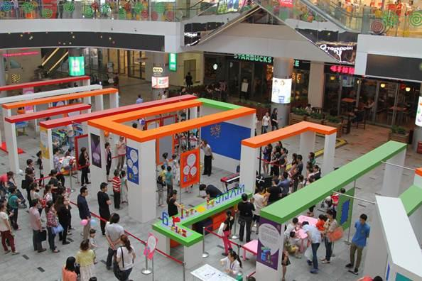 """童梦荟活动在嘉亭荟举行 孩子们的""""六一""""乐园"""
