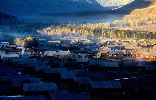 机械中国:新疆禾木让人窒息的美丽王座攻略地理图片