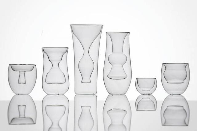 饰品类 该系列的设计概念来自不同形状的传统中式容器.