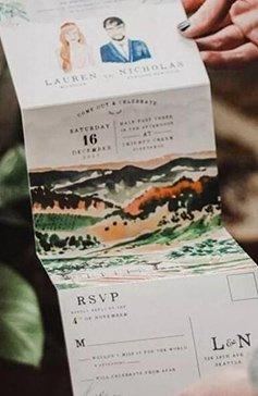 国外流行的婚礼邀请卡都在这里