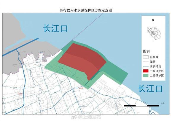 上海人饮用水哪里来?最新四个水源保护区范围公布