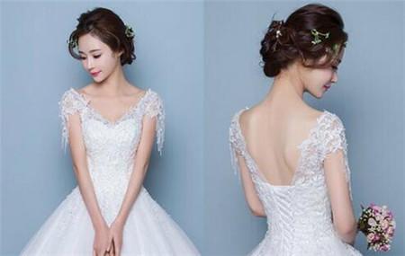 2017年下半年流行的新娘造型 婚礼上美翻的新娘发型