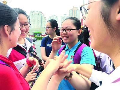 放弃中学二考上海第八初中李寅俊考后谈体代考外语贵州中考图片