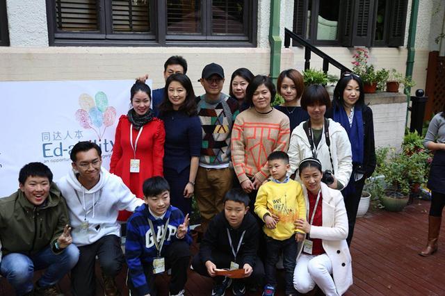 公益摄影之旅上海启程 文章探视自闭儿童摄影师