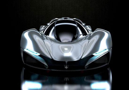 概念车,细心的朋友应该会发现它与法拉利laferrari在取名上有异高清图片