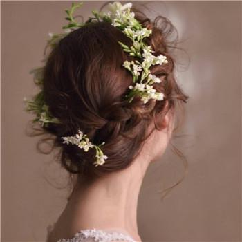 简单大方点的新娘发型介绍 2018新娘造型图片