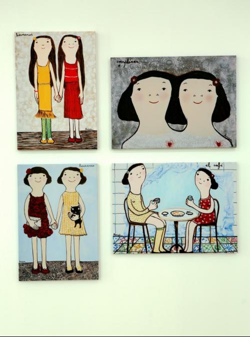 """会德丰国际广场""""织梦""""画展:梦想,成就更好的自己"""