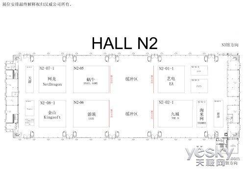Chinajoy2013展馆高清平面图欣赏
