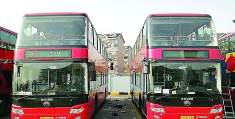 沪911路双层巴士要回来了 换了新车路线与以前一样