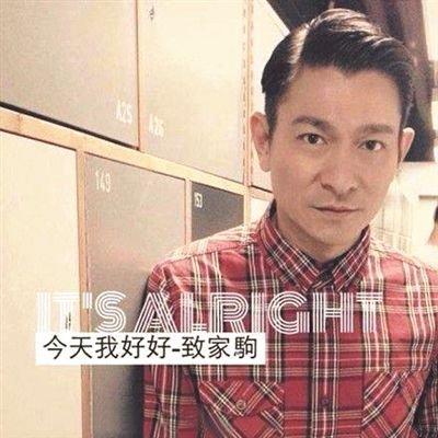黄家驹与刘德华合影照片_