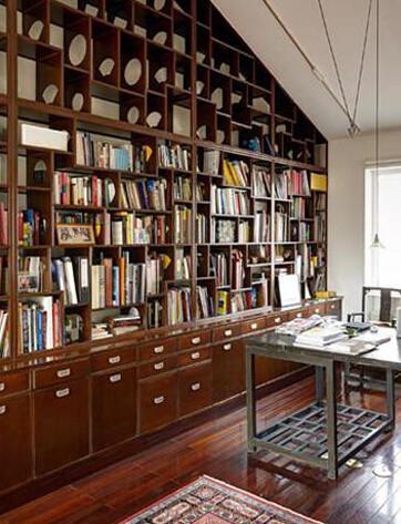 将空间节约到底 实用的书房收纳技巧集锦