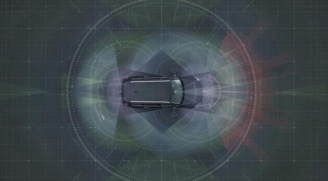 无人驾驶汽车依赖于多个传感器来在高速公路上自动行驶,不过高清图片