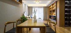 90平现代木色三室