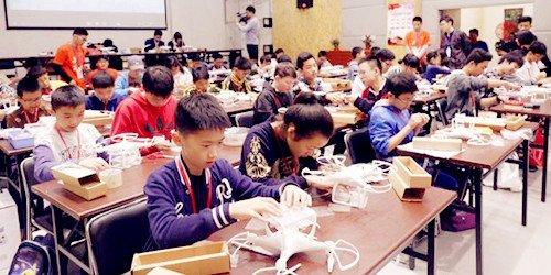 首届青少年无人机科普大奖赛华东模范赛区拉开帷幕