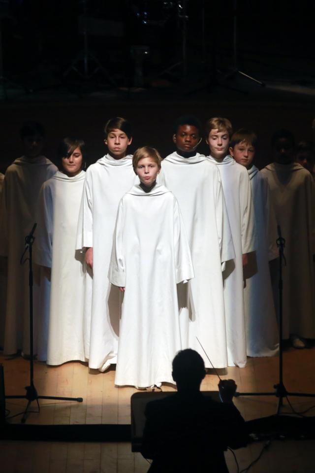 英国天使之翼童声合唱团音乐会开启天籁之音