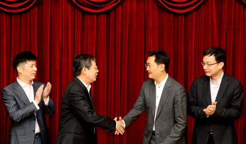 上海与腾讯签署战略协议 提升智慧城市水平