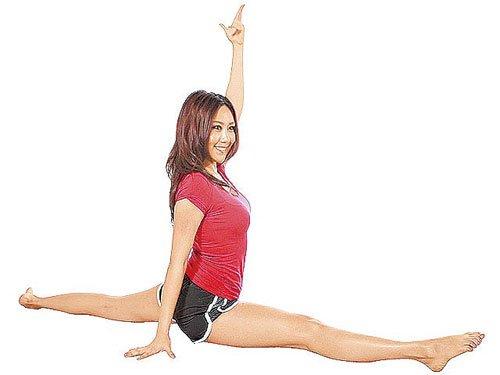 拉筋+按摩 快速瘦腿(图)