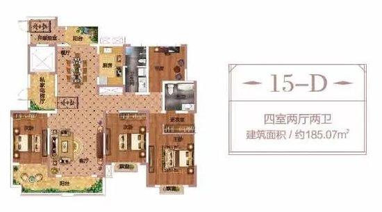 红星·港汇花园,实景园林,185-188㎡平层墅宅,敬献家业有成的商丘人!