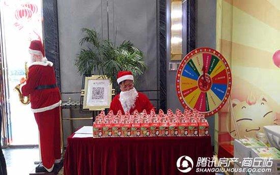 圣诞节活动,恒大翡翠华庭是这样玩的!所以,你来吗?