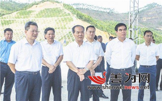 林少春调研深汕特别合作区产业项目建设情况