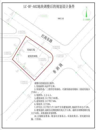 关于汕尾市保美西装厂有限公司用地规划设计的公告