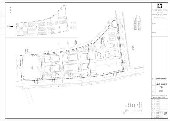 汕尾市国润纺织项目厂区建设工程规划许可证