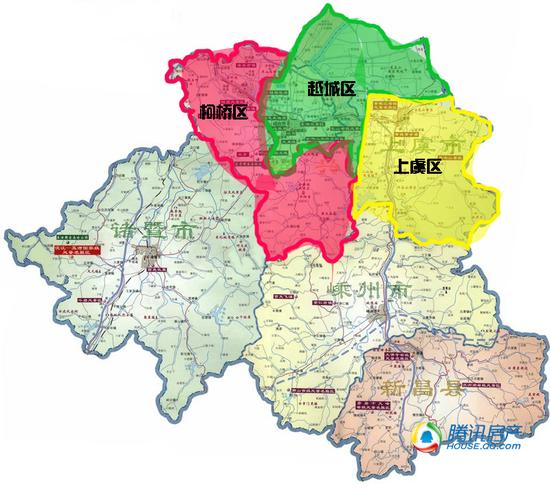 撤县设区大绍兴 最值得购买新规划版块重点楼盘集锦