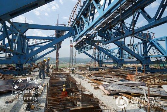 嵊州南田大桥6月底前将贯通 可从市区直接上高速
